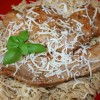 Veal Piccata with Angel Hair Pasta