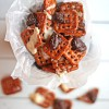 Pumpkin Spice Pretzels with Chocolate Drizzle