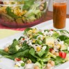 Healthy Chopped Salad with Jalapeño Lime Dressing