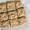 Oatmeal Cookie Jam Bars {Gluten Free}